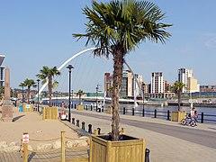 Palm Beach on Newcastle Quayside (geograph 2492545).jpg