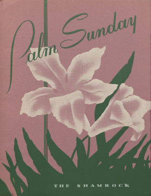 Boys' choir - Image: Palm Sunday Concert program