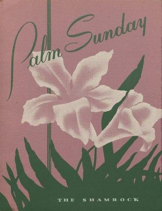 Boys' choir - Image: Palm Sunday Concert program