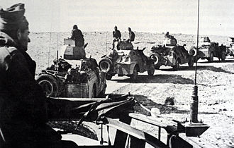 Tanks in the Israeli Army - A Palmach patrol in the Negev