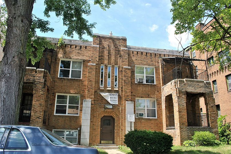 Palmer park apartment building historic district boyce apartments
