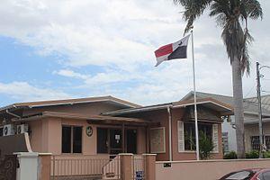 Woodbrook, Port of Spain - Panamanian Embassy in 25 De Verteuil Street, Woodbrook
