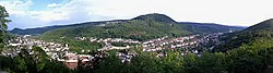 Panorama of Kirn, seen from Kyrburg