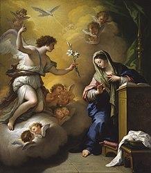 Paolo de Matteis: The Annunciation
