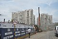 Parama-Park Circus Flyover Under Construction - EM Bypass - Kolkata 2010-09-15 7575.JPG