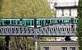 Paris zoom métro aérien station Jaurès, Paris avril 2014.jpg