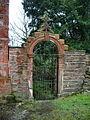 Parish Church of St John the Divine, Holme Chapel, Gate - geograph.org.uk - 770578.jpg