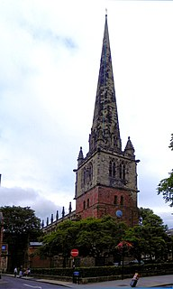 St Marys Church, Shrewsbury Church in Shropshire, England