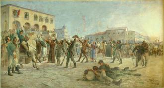Siege of Salvador - Image: Parreiras O Primeiro Passo para a Independência da Bahia