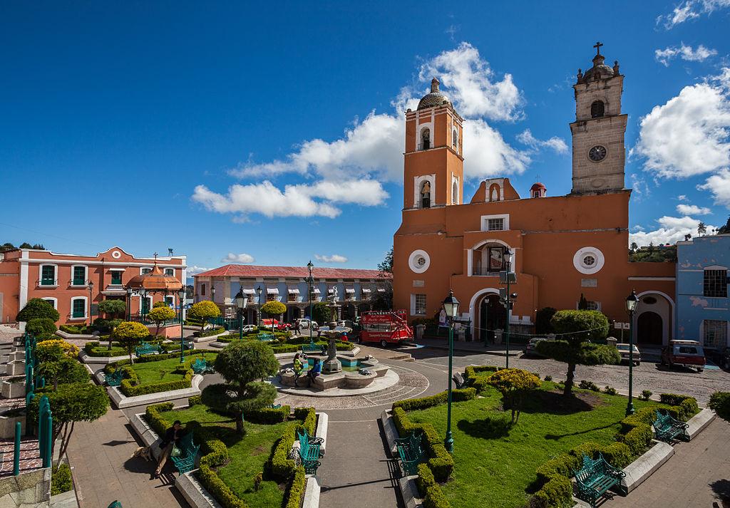 centro de Real del Monte, Hidalgo