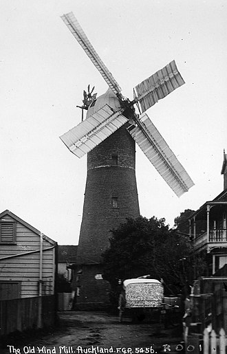 Karangahape Road - Partington's Windmill