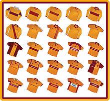 Evoluzione delle maglie del club