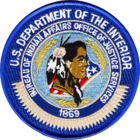 Patch of the Bureau of Indian Affairs Police.png