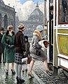 Paul Gustav Fischer - Tram stop.jpg