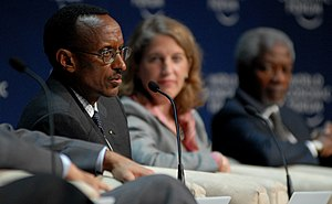 CAPE TOWN/SOUTH AFRICA, 11JUN2009 -Paul Kagame...
