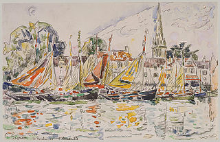 Le Pouliguen: Fishing Boats