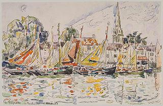 Le Pouliguen: Fishing Boats