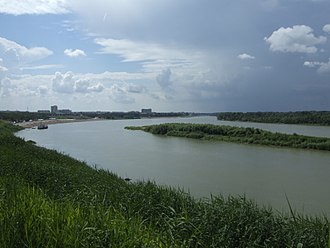 Irtysh River - The Irtysh near Pavlodar in Kazakhstan