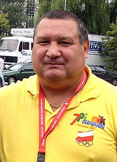 Paweł Skrzecz Polish boxer