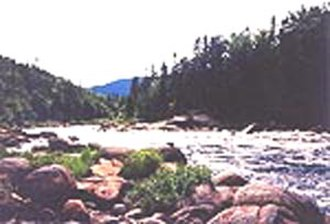Hochelaga (village) - Rivière des Prairies