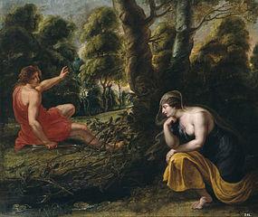 Cephalus and Procris