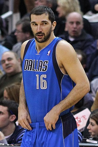 2003 NBA All-Star Game - Peja Stojaković, of the Sacramento Kings, won his second 3-point title in a row.