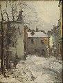 Pelletier P.J. - Oil on canvas - Montmartre, la place du tertre, l'hiver - 60x45cm.jpg