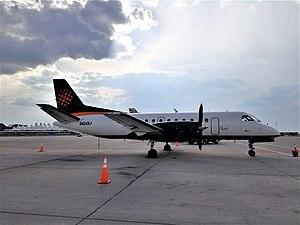 PenAir - PenAir Saab 340B N424XJ. Note the SOL Lineas Aereas livery