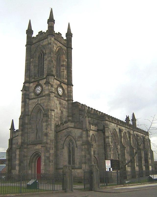 St Thomas' Church, Pendleton