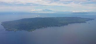 Nusa Penida - Nusa Penida from the air