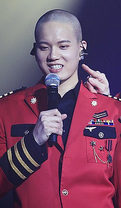 Peniel Shin at BTOB Time in January 2017.jpg