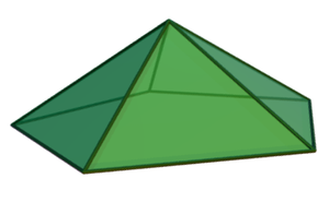 Dual polyhedron - Image: Pentagonal pyramid
