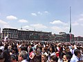 People evacuated on Mexico Ciy Zocalo after 2017 earthquake 2.jpg