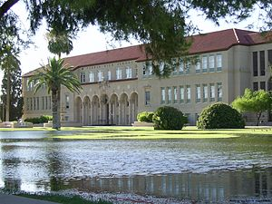 Peoria High School (Arizona) - Image: Peoria High School, Old Main Building