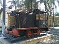 Pequena locomotiva na Estação Rafard do antigo traçado da Ytuana, depois Estrada de Ferro Sorocabana (Itaici-Piracicaba) em Rafard - panoramio.jpg