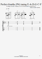 Perfect fourths P4 tuning chords C major.png