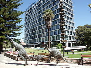 Perth (suburb) - Council House, Perth