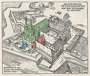 Principality of Erfurt - Image: Peterskloster 2