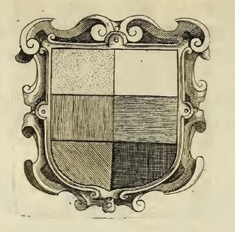 Silvester Petra Sancta - Hatching table (De symbolis heroicis, 1634)