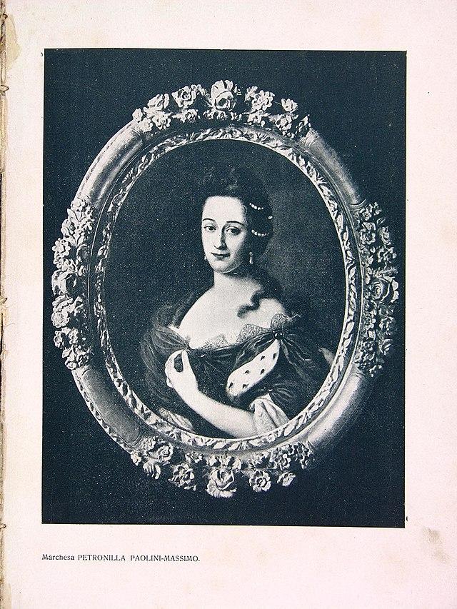 Petronilla Paolini Massimo