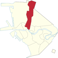 Location of Sta. Cruz in Manila
