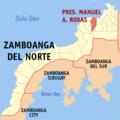 Ph locator zamboanga del norte pres. manuel a. roxas.png