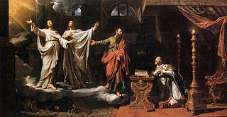 Apparition de Saint Gervais et de Saint Protais à Saint Ambroise