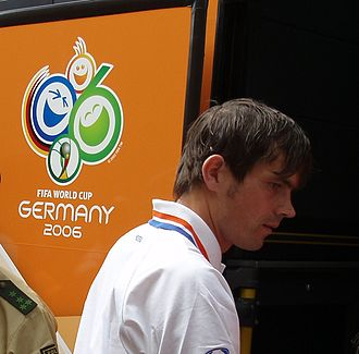 Phillip Cocu - Cocu with the Netherlands during the 2006 World Cup
