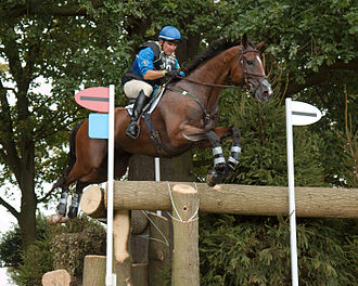 Phillip Dutton - Phillip Dutton and Truluck at Capability's Classic during the cross country phase of Burghley Horse Trials 2009