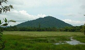 Phnom Dei - View of Phnom Dei
