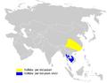 Phylloscopus ricketti distribution map.png