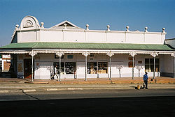 Typical colonial building in central Piet Retief