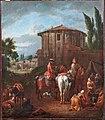 Pieter van Bloemen - Roman landscape with figures and animals in front of the Temple Vesta.jpg