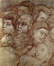 CAVALLINI, Pietro Last judgment (detail) 1290s